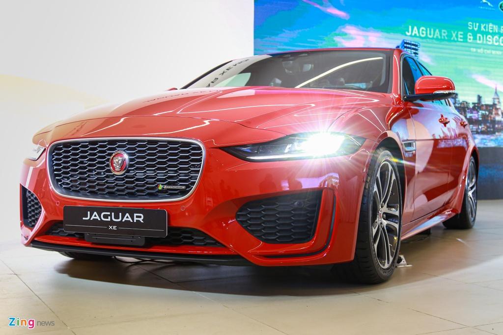 Jaguar XE ra mat tai VN anh 12