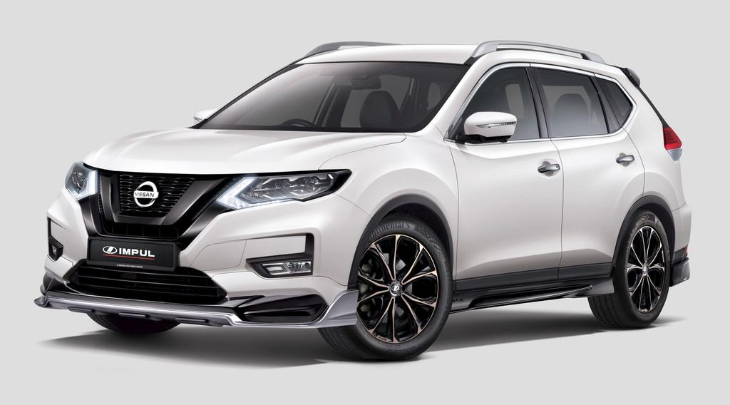Nissan X-Trail nang cap ngoai hinh dau Honda CR-V anh 1