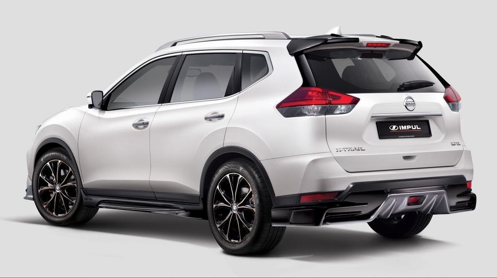 Nissan X-Trail nang cap ngoai hinh dau Honda CR-V anh 2
