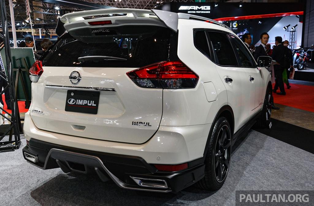 Nissan X-Trail nang cap ngoai hinh dau Honda CR-V anh 7