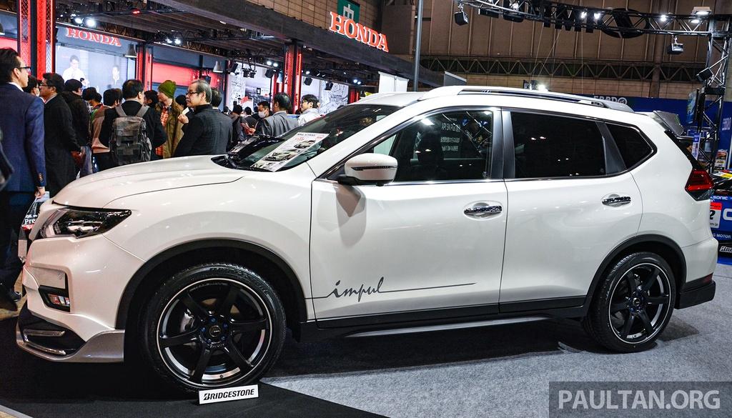 Nissan X-Trail nang cap ngoai hinh dau Honda CR-V anh 8