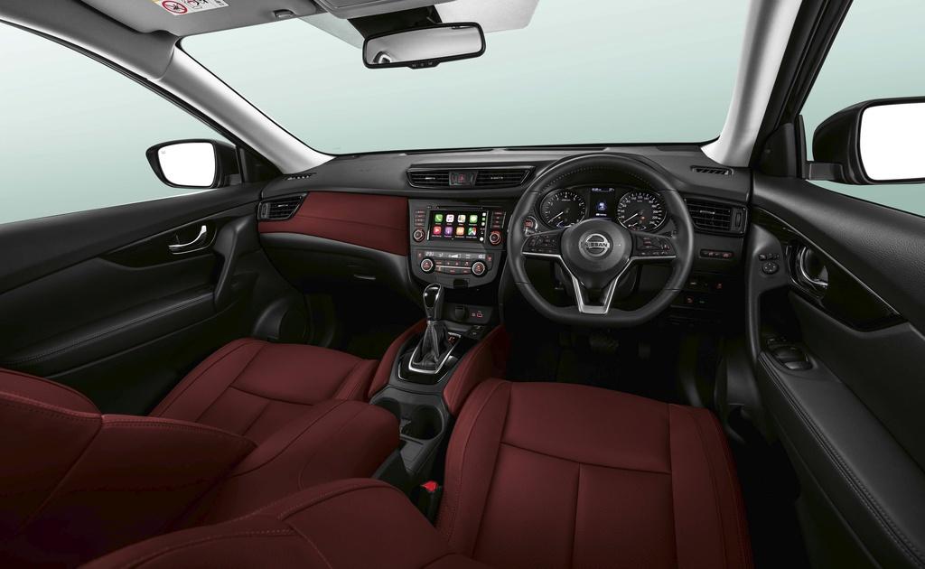 Nissan X-Trail nang cap ngoai hinh dau Honda CR-V anh 4