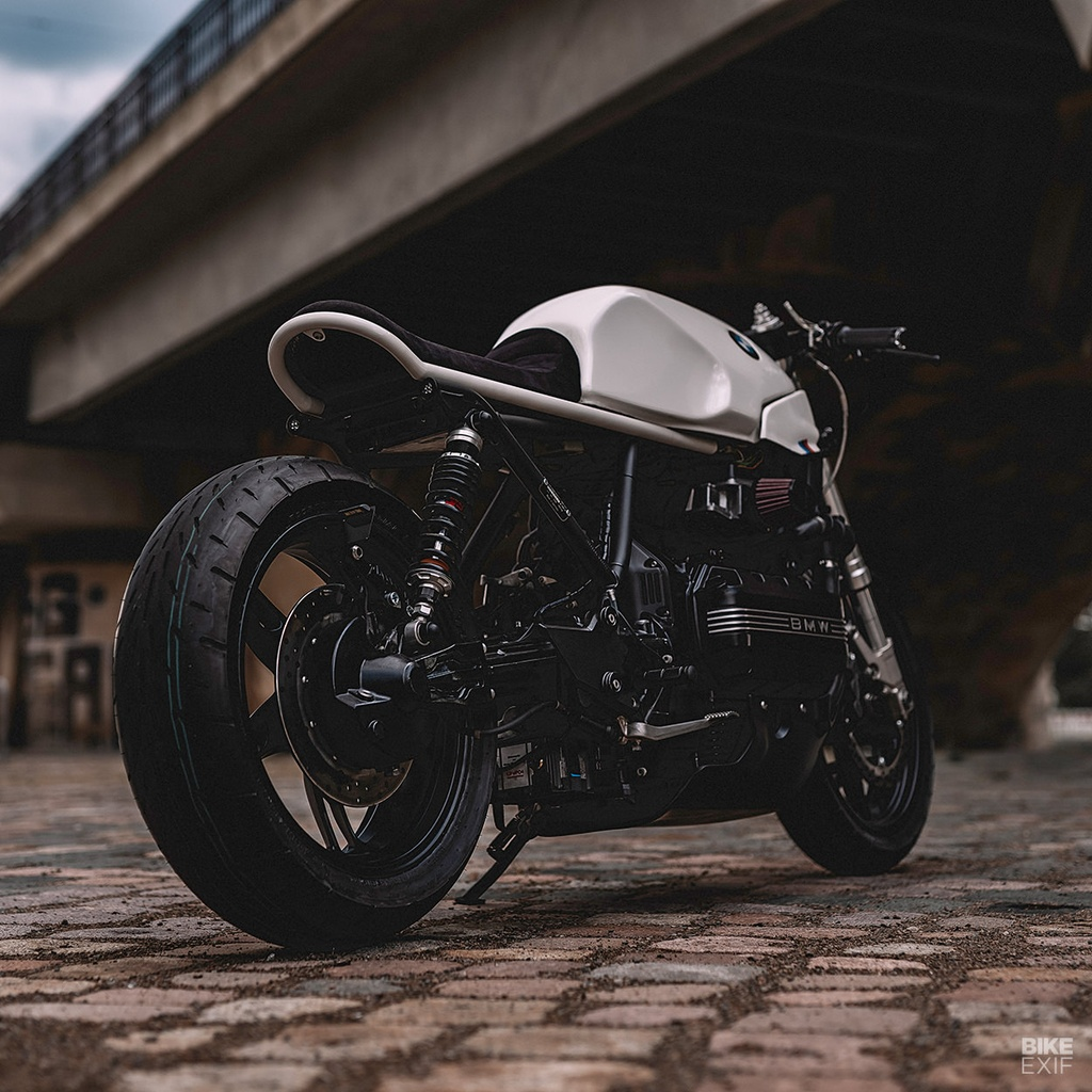 BMW K100RS do phong cach cafe racer anh 11
