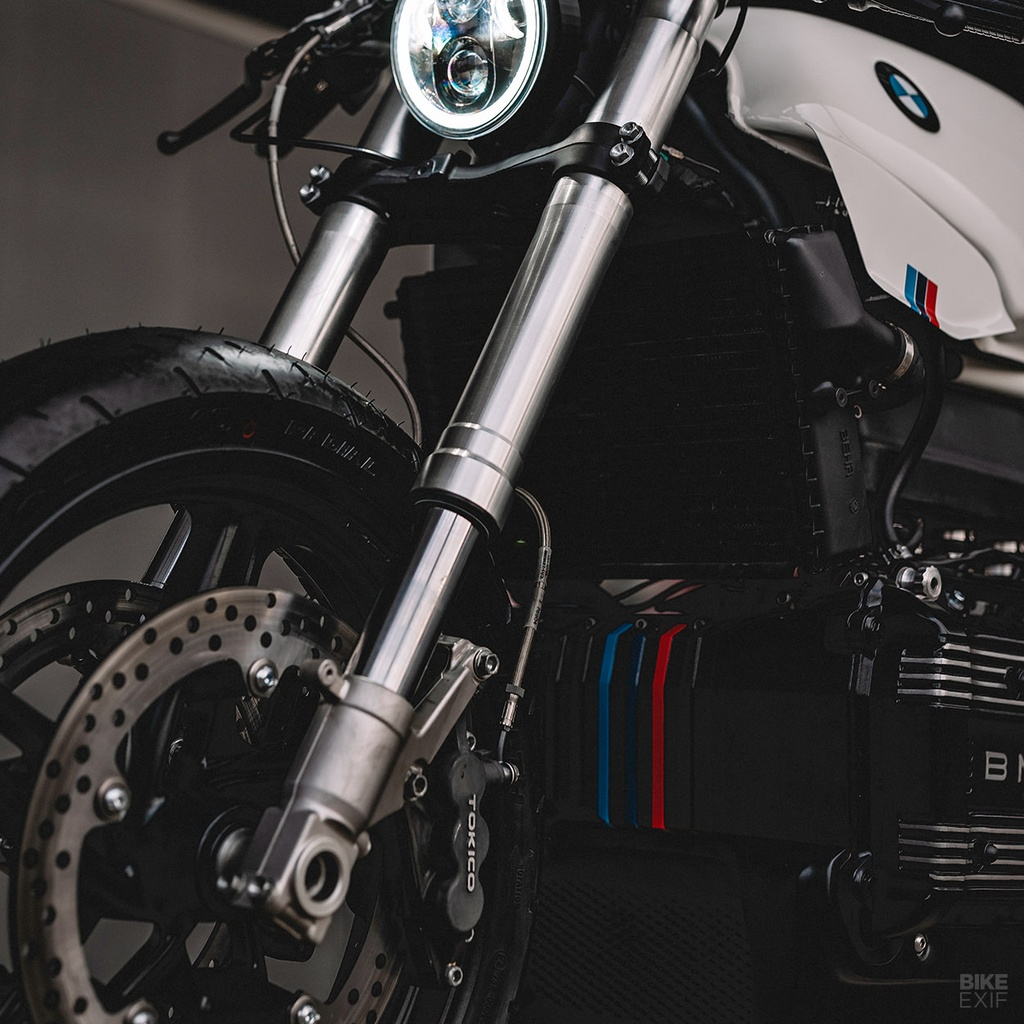 BMW K100RS do phong cach cafe racer anh 8