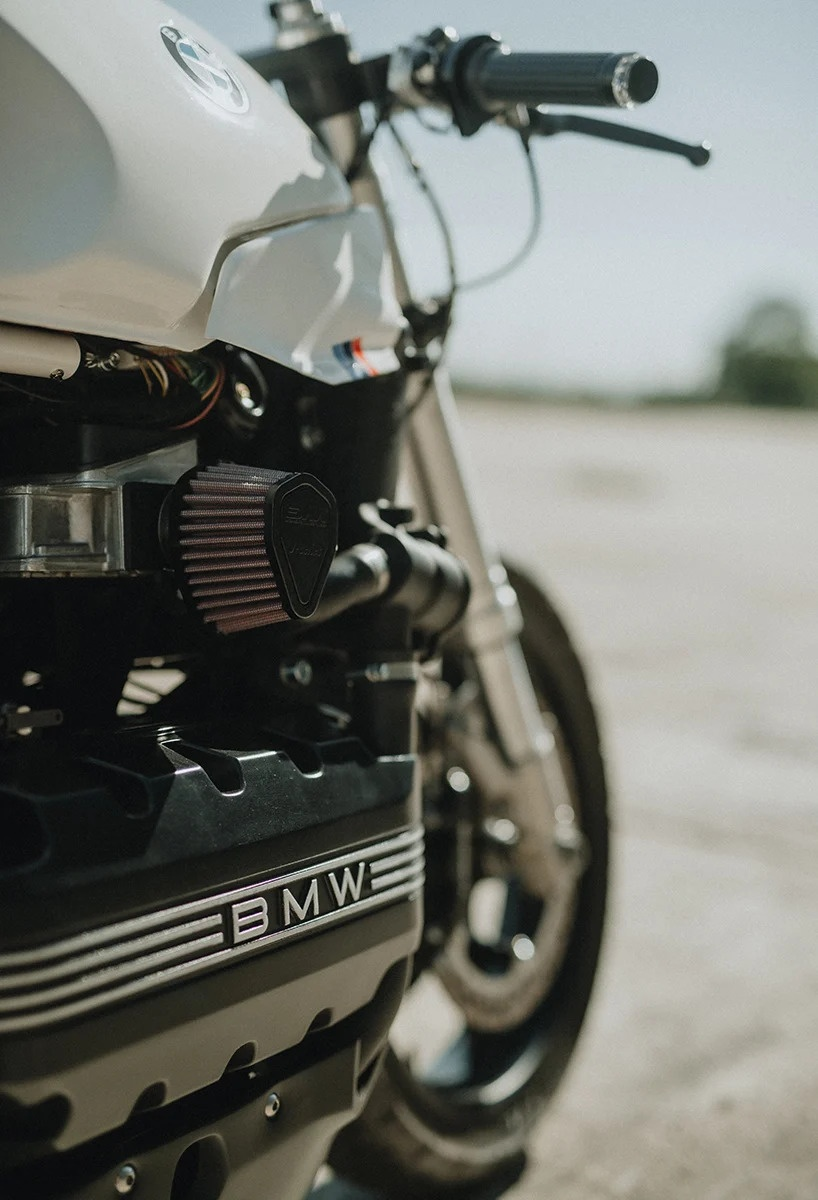 BMW K100RS do phong cach cafe racer anh 6