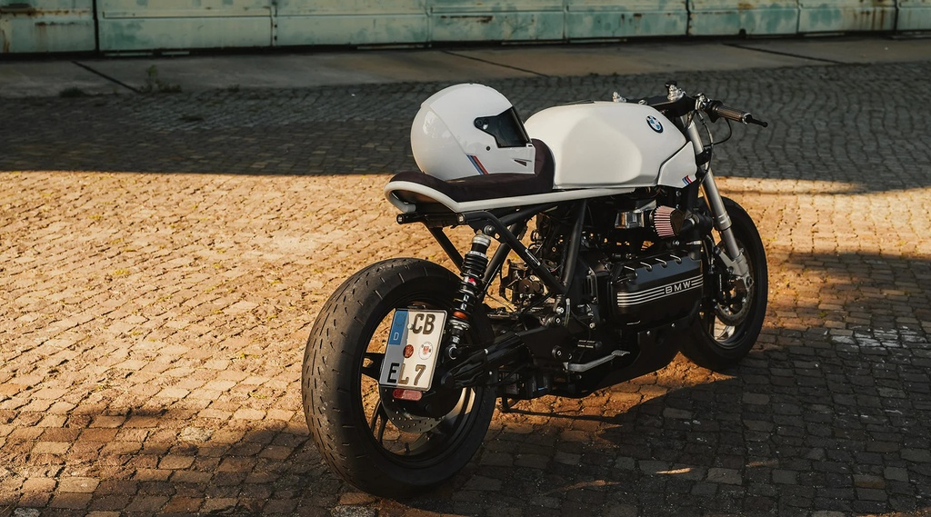 BMW K100RS do phong cach cafe racer anh 3