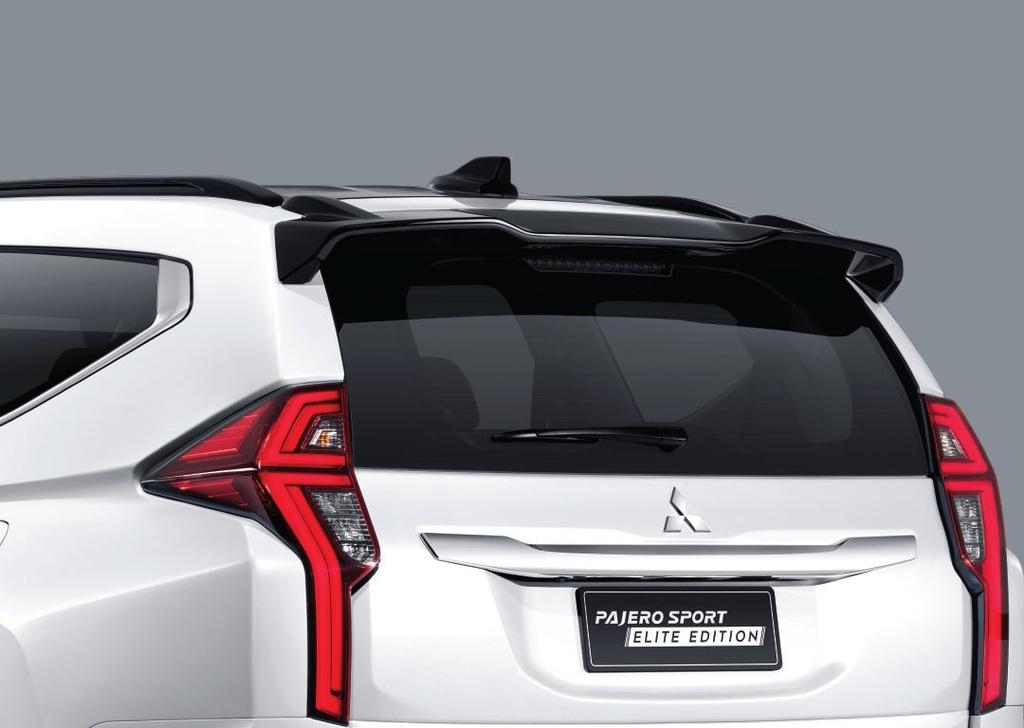 Mitsubishi Pajero Sport Elite Edition ra mat tai Thai Lan anh 3