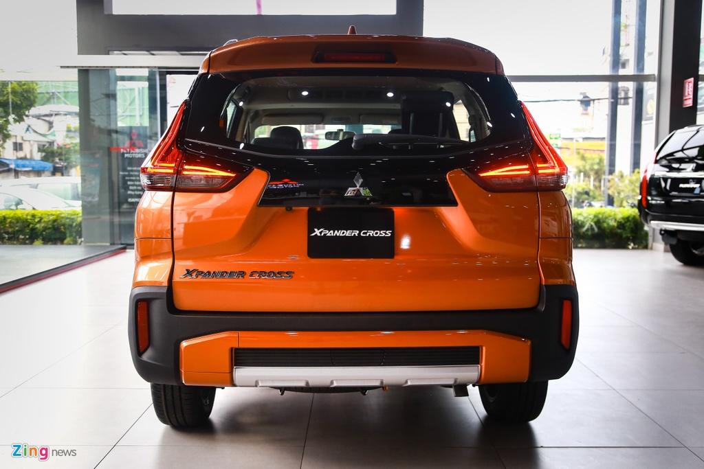 Mitsubishi Xpander Cross ra mat,  gia 670 trieu dong anh 7