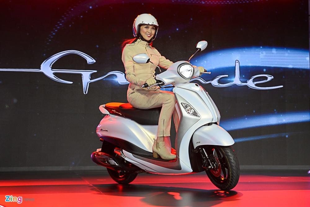 So sanh Honda SH Mode va Yamaha Grande anh 16