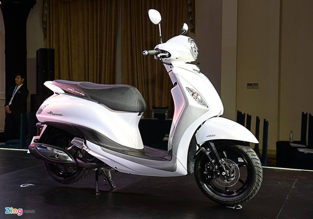 So sanh Honda SH Mode va Yamaha Grande anh 4