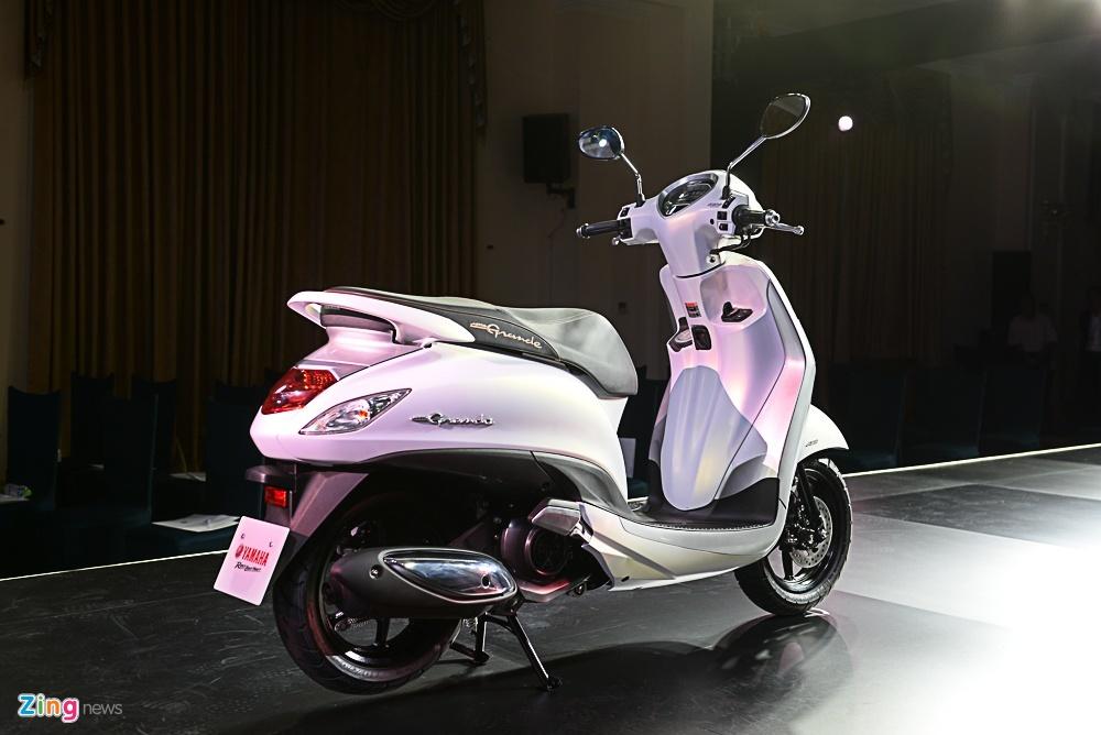 So sanh Honda SH Mode va Yamaha Grande anh 8