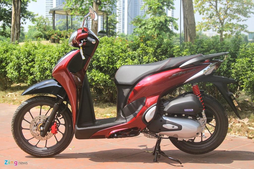 So sanh Honda SH Mode va Yamaha Grande anh 3