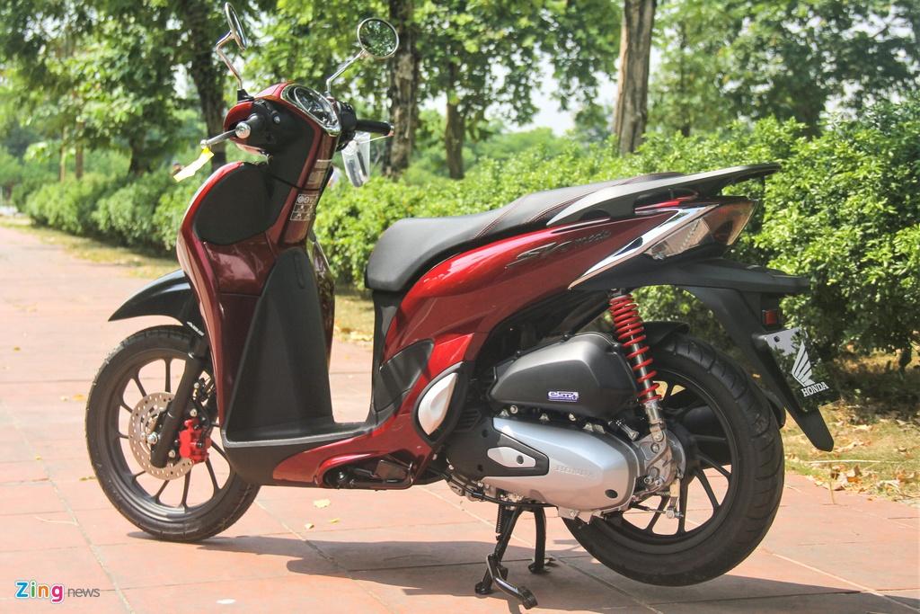 So sanh Honda SH Mode va Yamaha Grande anh 7