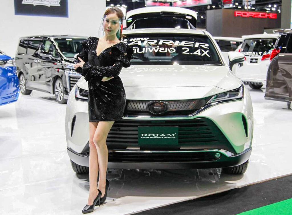 Toyota Harrier 2021 ra mat tai Bangkok Motor Show 2020 anh 11