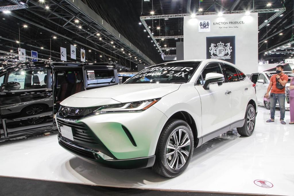 Toyota Harrier 2021 ra mat tai Bangkok Motor Show 2020 anh 9