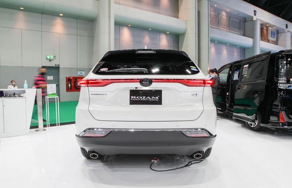 Toyota Harrier 2021 ra mat tai Bangkok Motor Show 2020 anh 10