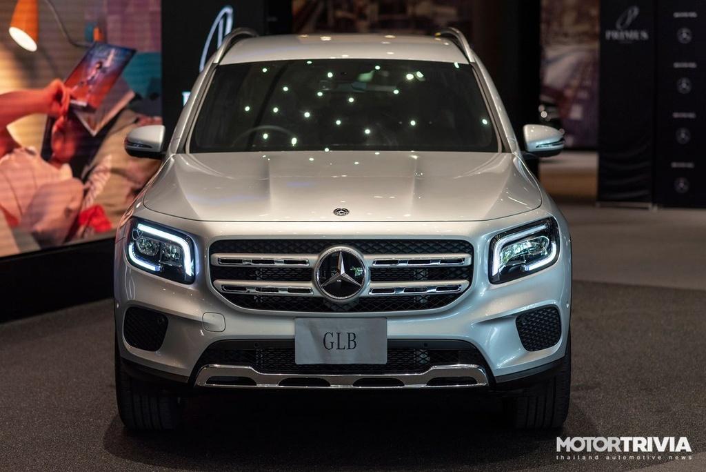 Chi tiet Mercedes-Benz GLB vua ra mat tai Thai Lan anh 2