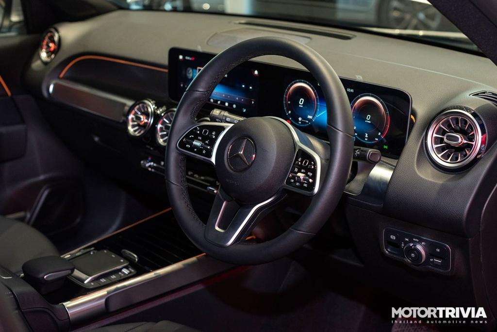 Chi tiet Mercedes-Benz GLB vua ra mat tai Thai Lan anh 9