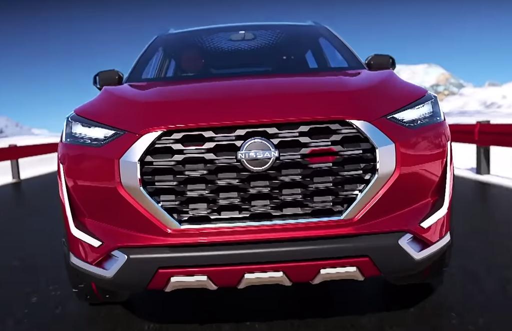 Nissan Magnite Concept lo thiet ke noi that anh 2
