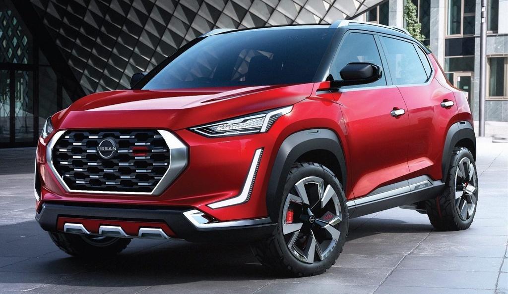Nissan Magnite Concept lo thiet ke noi that anh 1