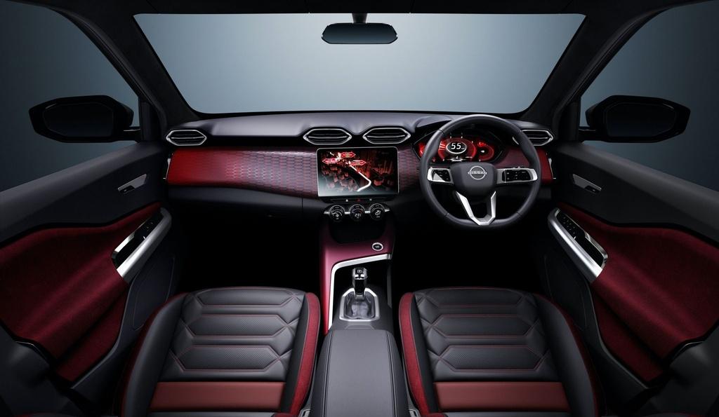 Nissan Magnite Concept lo thiet ke noi that anh 7