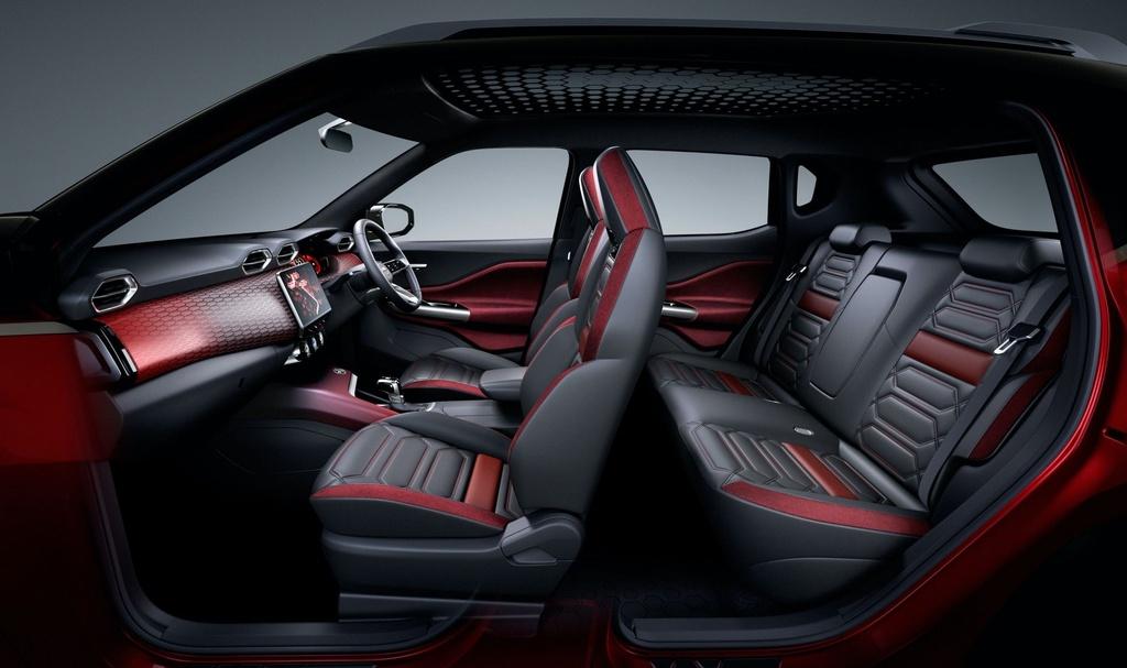 Nissan Magnite Concept lo thiet ke noi that anh 6