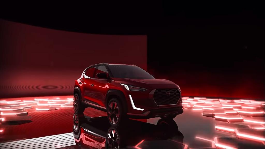 Nissan Magnite Concept lo thiet ke noi that anh 10