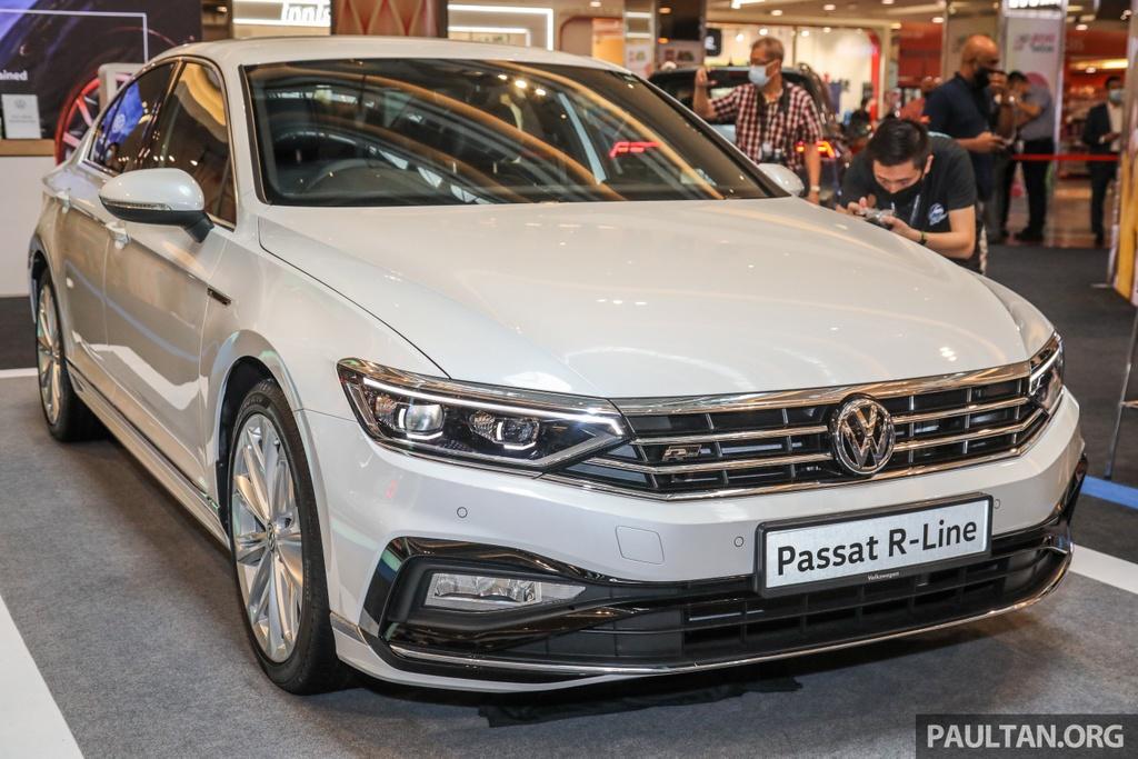 Chi tiet Volkswagen Passat R-Line anh 1