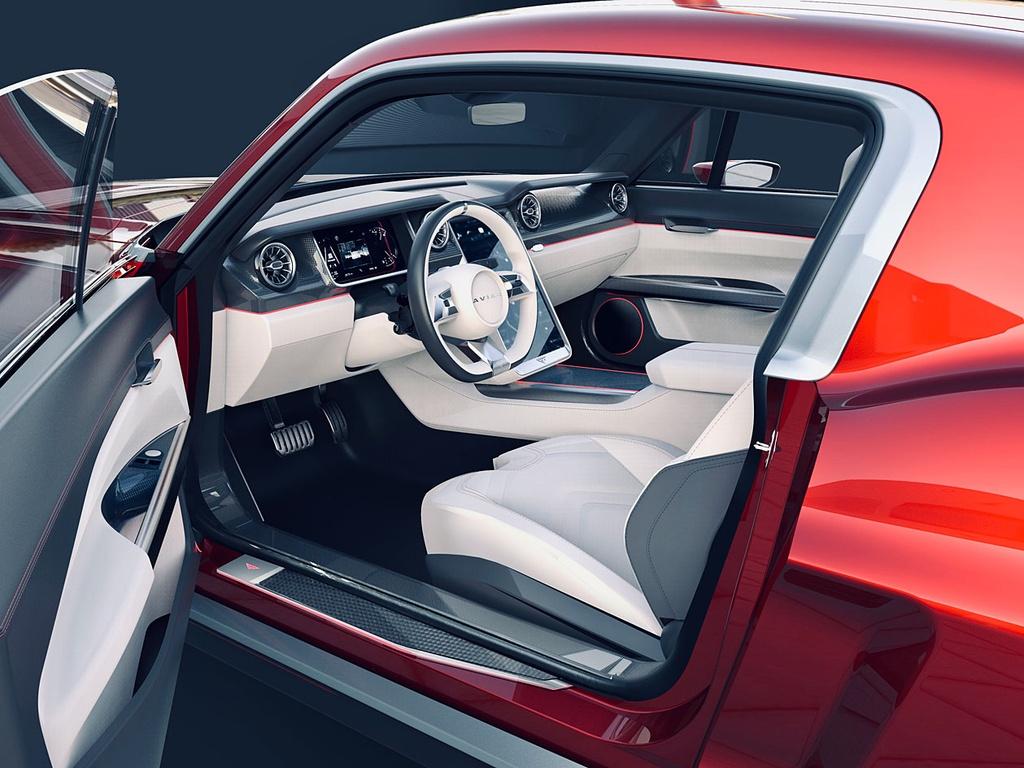 Hang xe Nga che tao xe dien tu Tesla Model S va Ford Mustang anh 7