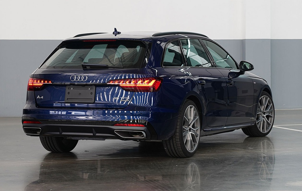 Audi A4 Avant facelift ra mat tai Thai Lan anh 13