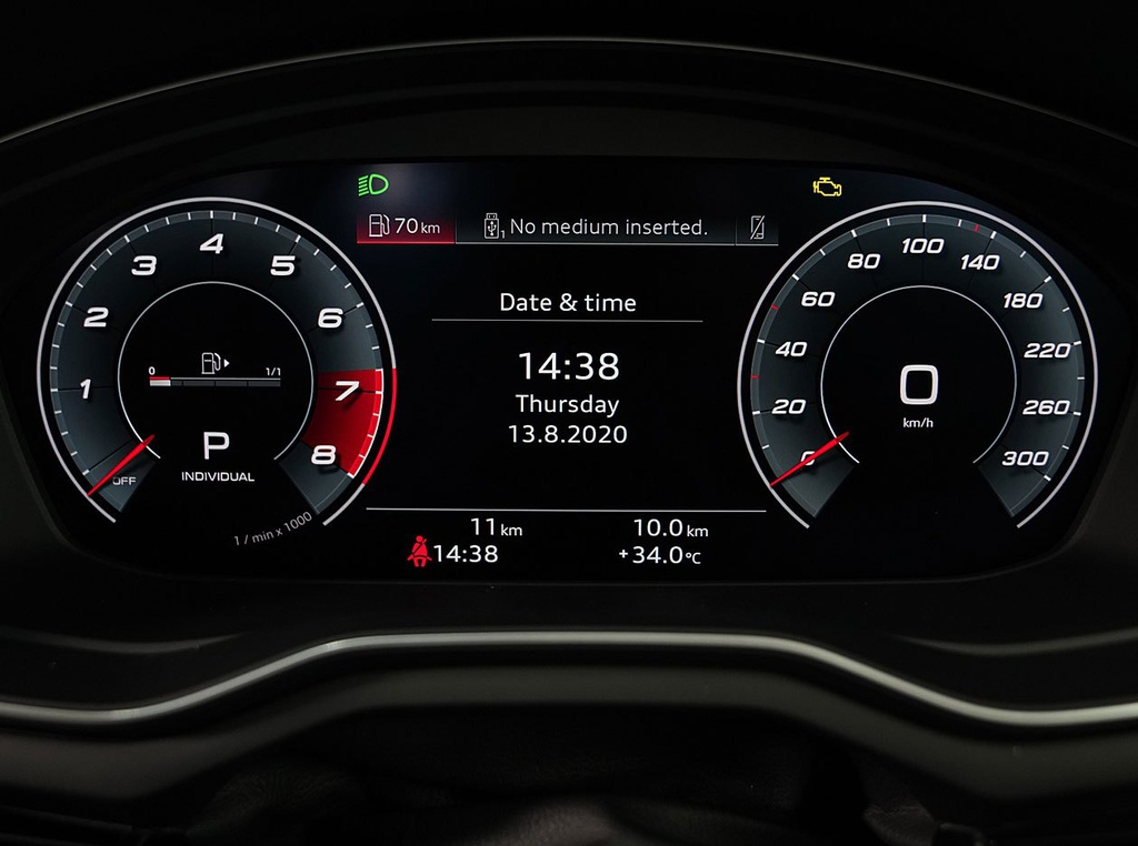 Audi A4 Avant facelift ra mat tai Thai Lan anh 8