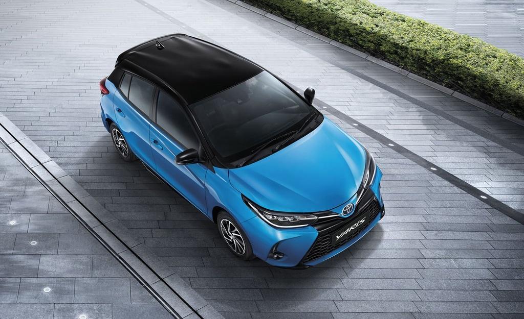 Toyota Yaris va Yaris Activ duoc nang cap tai Thai Lan anh 1