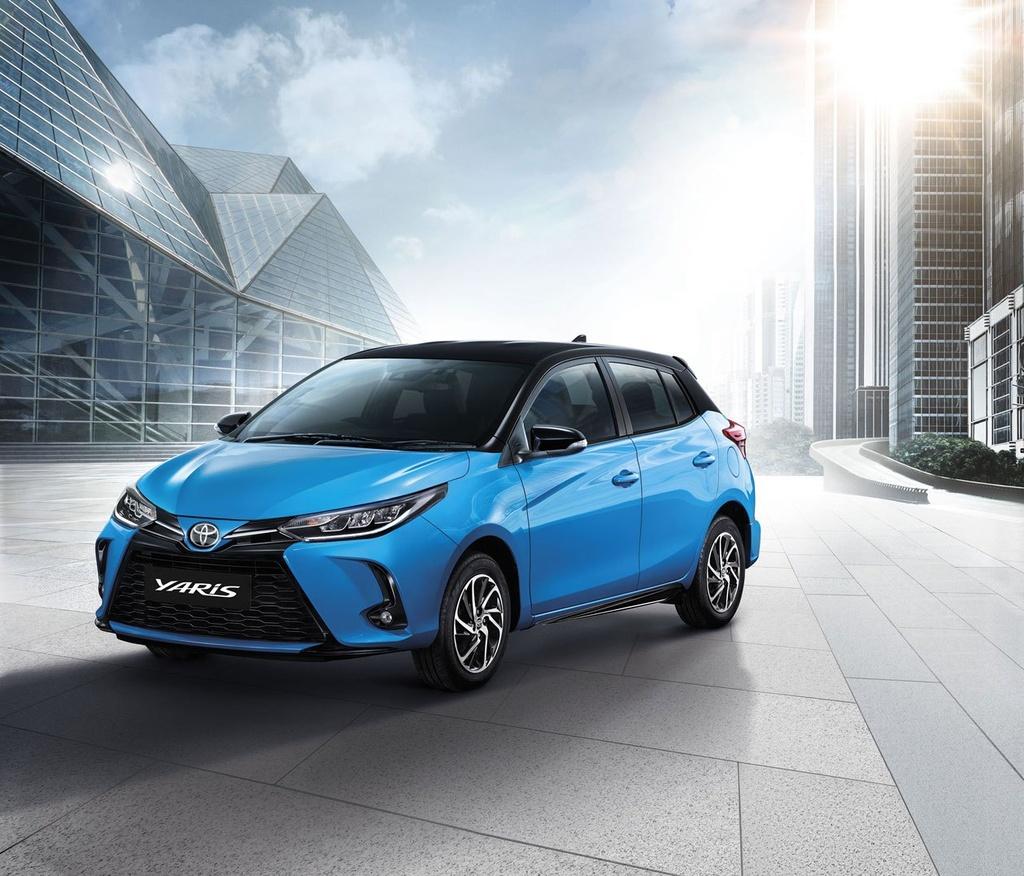 Toyota Yaris va Yaris Activ duoc nang cap tai Thai Lan anh 3