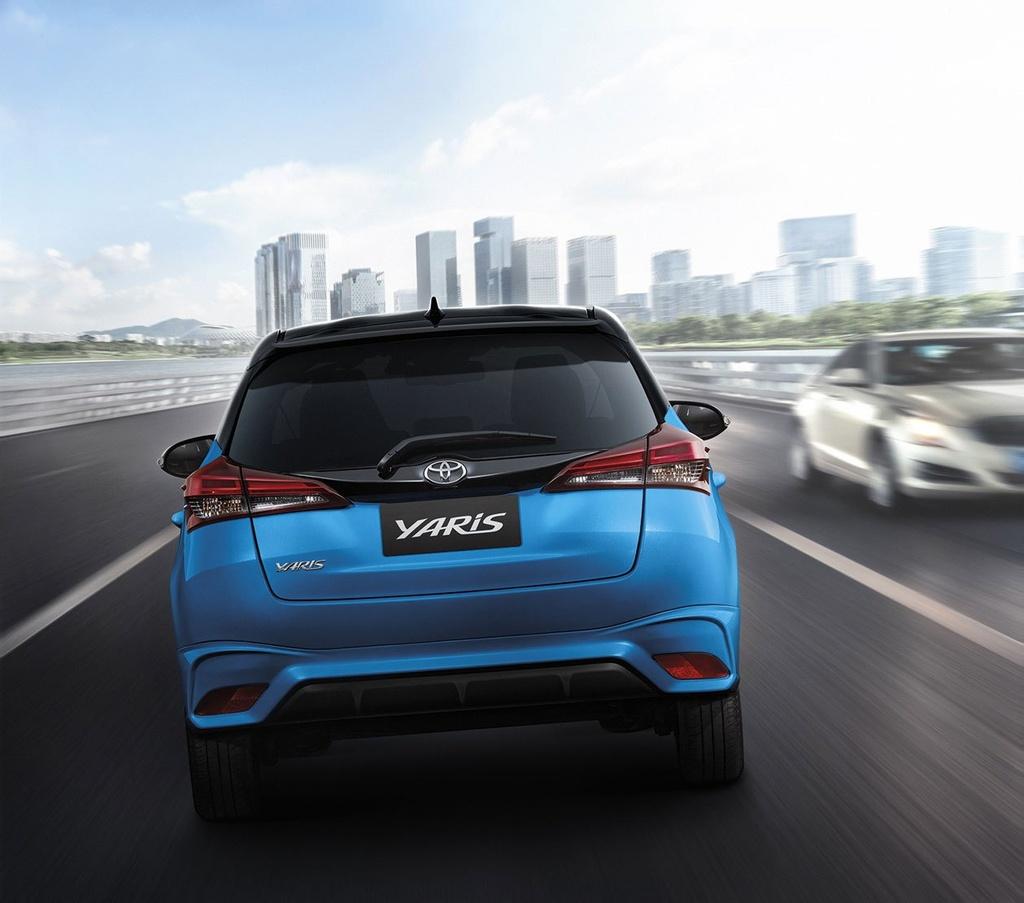 Toyota Yaris va Yaris Activ duoc nang cap tai Thai Lan anh 11
