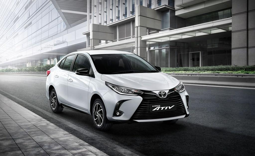 Toyota Yaris va Yaris Activ duoc nang cap tai Thai Lan anh 2