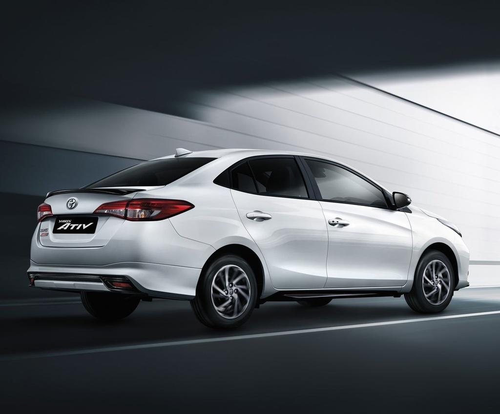 Toyota Yaris va Yaris Activ duoc nang cap tai Thai Lan anh 10