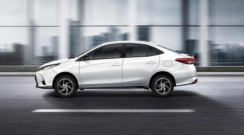 Toyota Yaris va Yaris Activ duoc nang cap tai Thai Lan anh 9