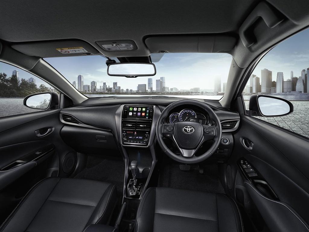 Toyota Yaris va Yaris Activ duoc nang cap tai Thai Lan anh 4