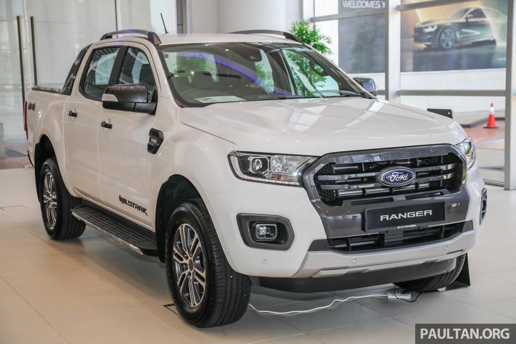 Chi tiet Ford Ranger Wildtrak ban nang cap 2020 anh 2
