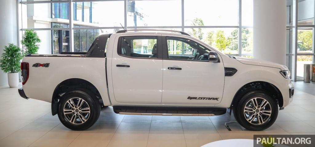 Chi tiet Ford Ranger Wildtrak ban nang cap 2020 anh 13