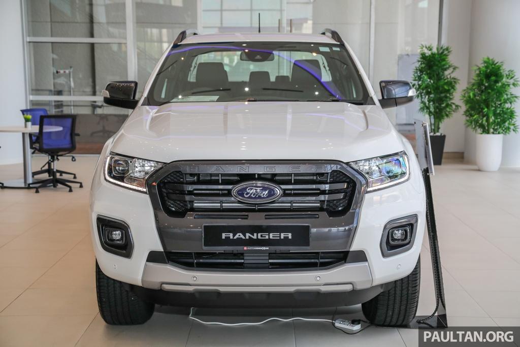 Chi tiet Ford Ranger Wildtrak ban nang cap 2020 anh 1