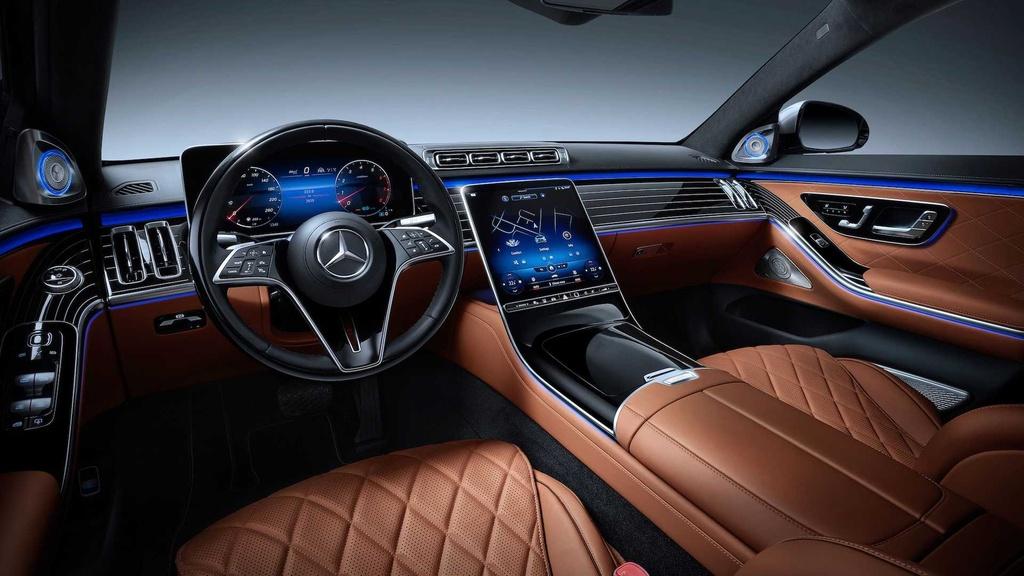 Mercedes-Maybach S-Class 2021 sap ra mat anh 9
