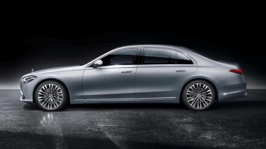 Mercedes-Maybach S-Class 2021 sap ra mat anh 8