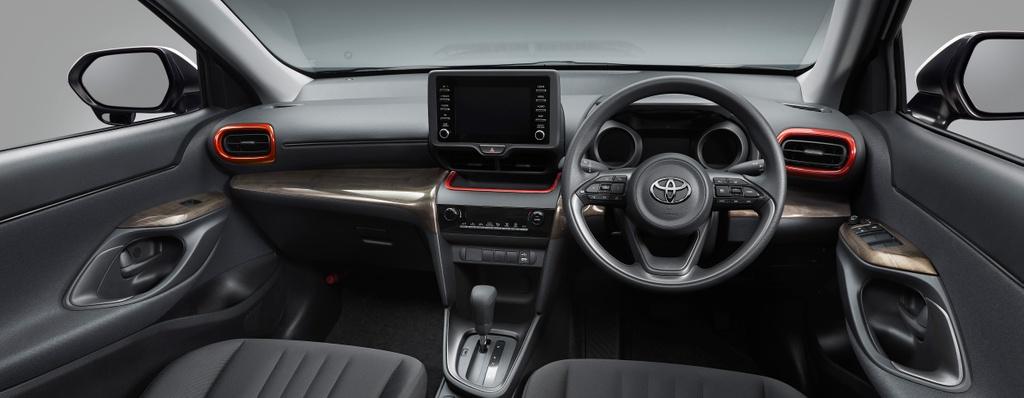 Toyota Yaris Cross them goi nang cap the thao anh 5