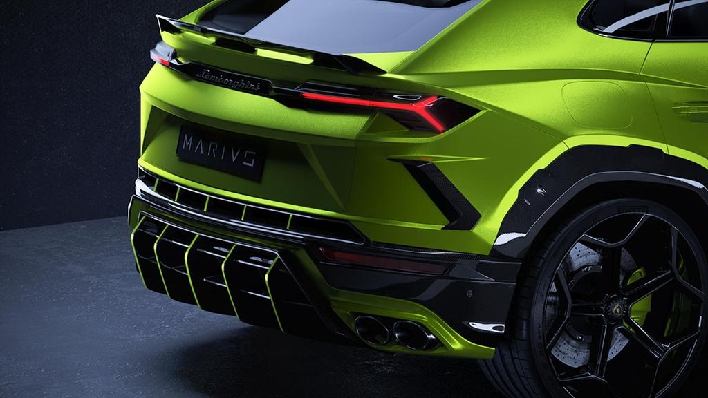Ban do Lamborghini Urus ngoai hinh ham ho anh 6