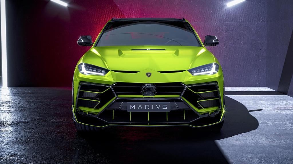 Ban do Lamborghini Urus ngoai hinh ham ho anh 2