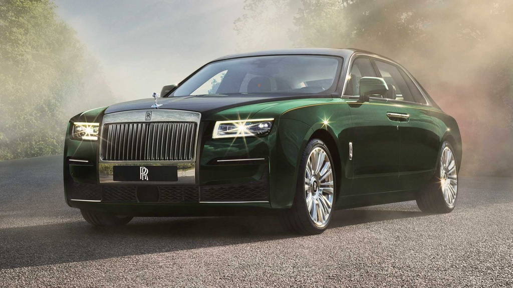 Rolls-Royce Ghost Extended 2021 lo dien anh 1
