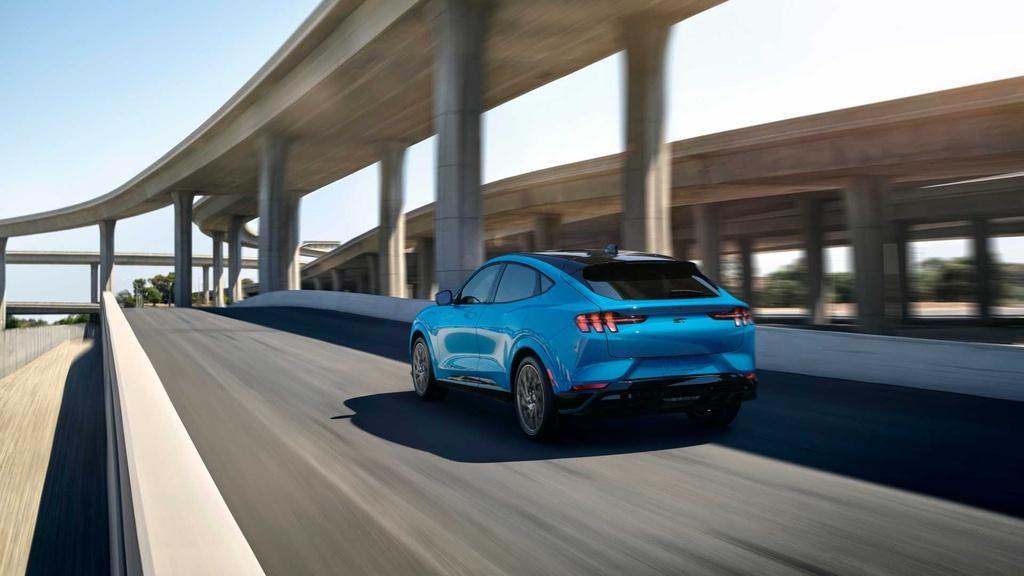 Ford Mustang Mach-E GT ra mat tai chau Au anh 2