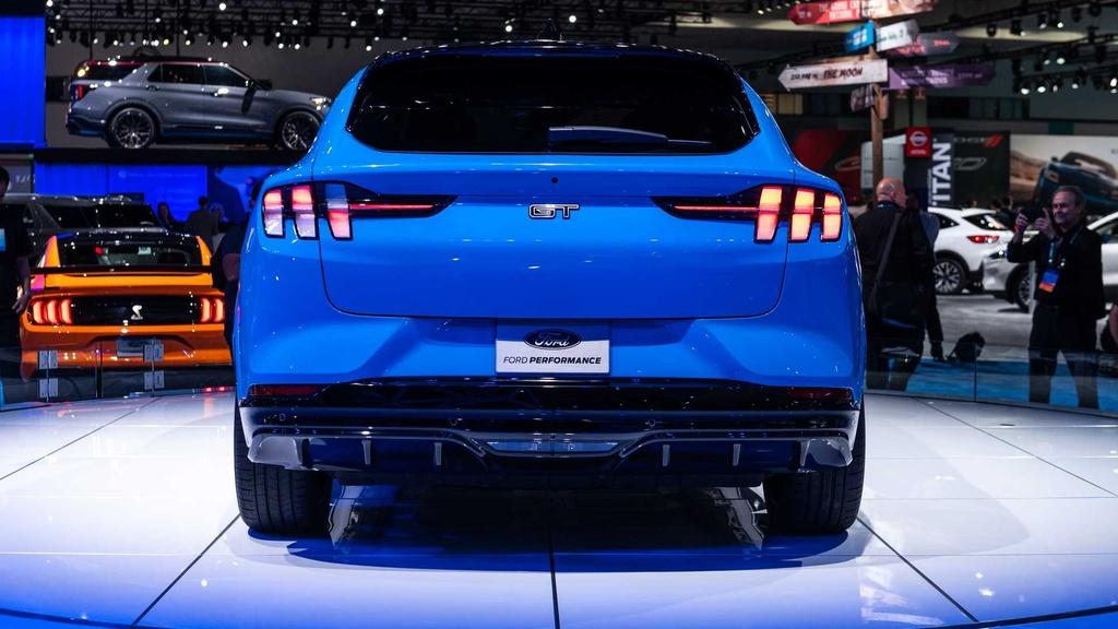 Ford Mustang Mach-E GT ra mat tai chau Au anh 9