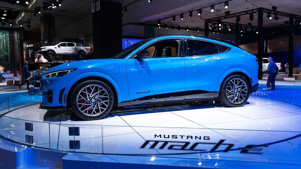Ford Mustang Mach-E GT ra mat tai chau Au anh 10